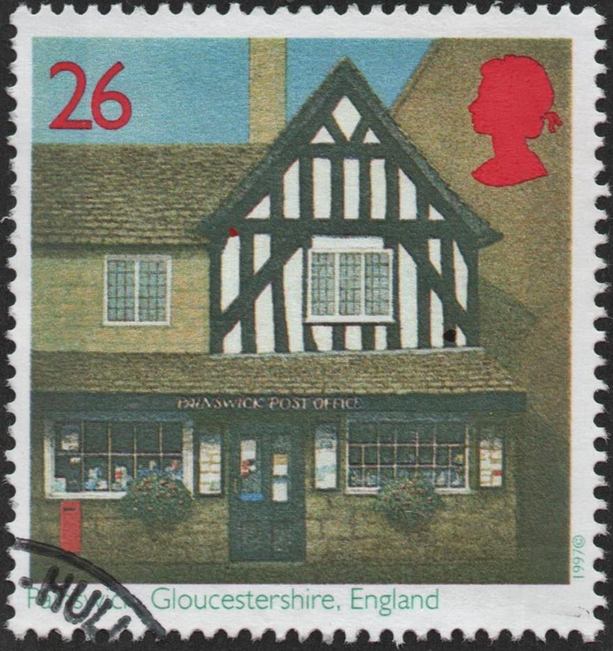 Great Britain - Scott #1768 (1997)