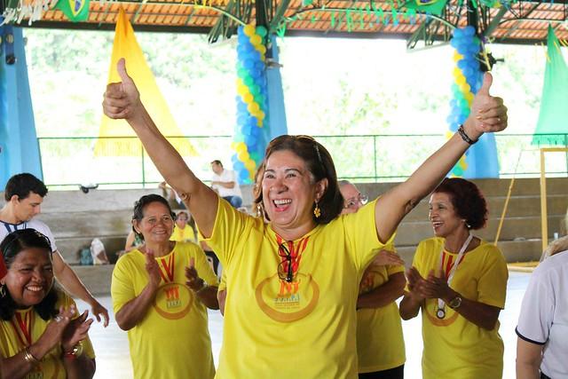 24.07.18 Idosos vão participar de Jogos Internos para seletiva de Olimpíadas.