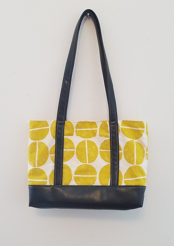 The Library Tote – A New Bag Pattern