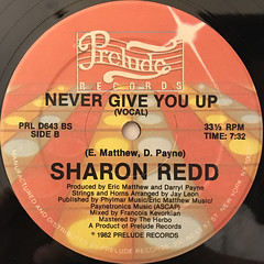 SHARON REDD:IN THE NAME OF LOVE(LABEL SIDE-B)