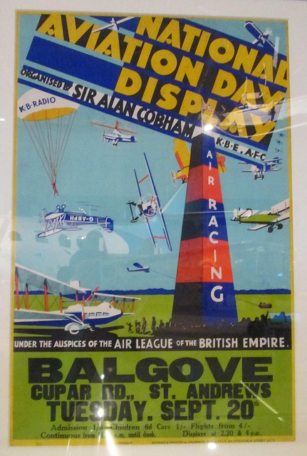 Flying Display Poster