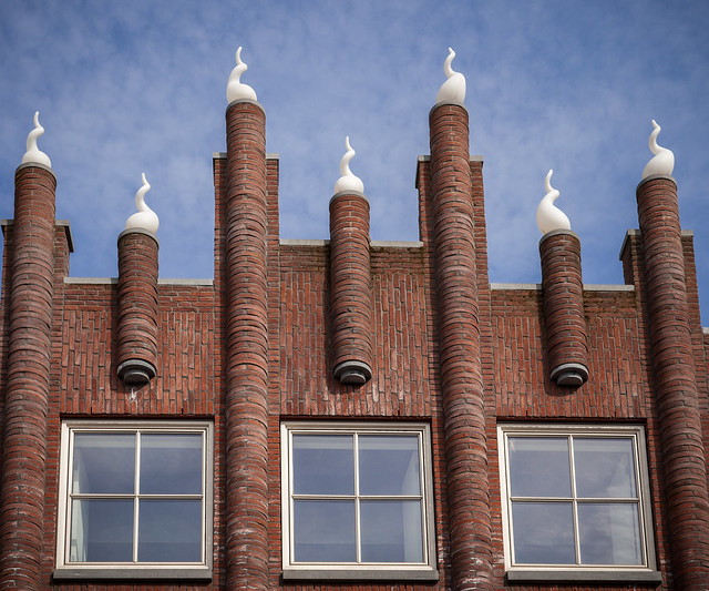 Quirky architecture in Gouda