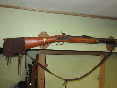 CVA Frontier rifle 50 cal.