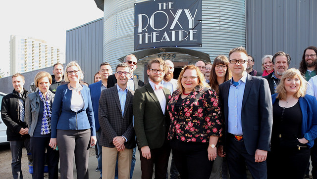 Curtain going up on next act of Roxy Theatre story