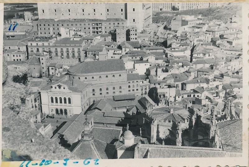 Teatro Rojas en 1962. Fotografía de Julián C.T.