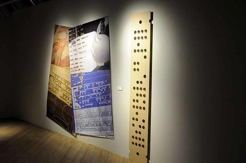 Kristina Müntzing – installation med hålkort