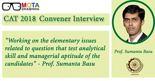CAT 2018 Convener Interview