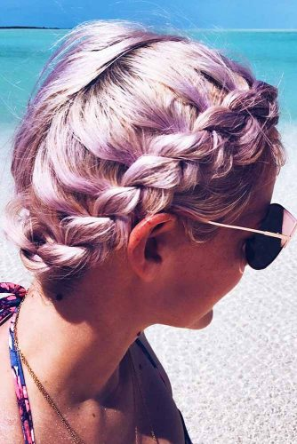 Most Stunning Braided Short Hair Styles To Top Level Of Beauty 6