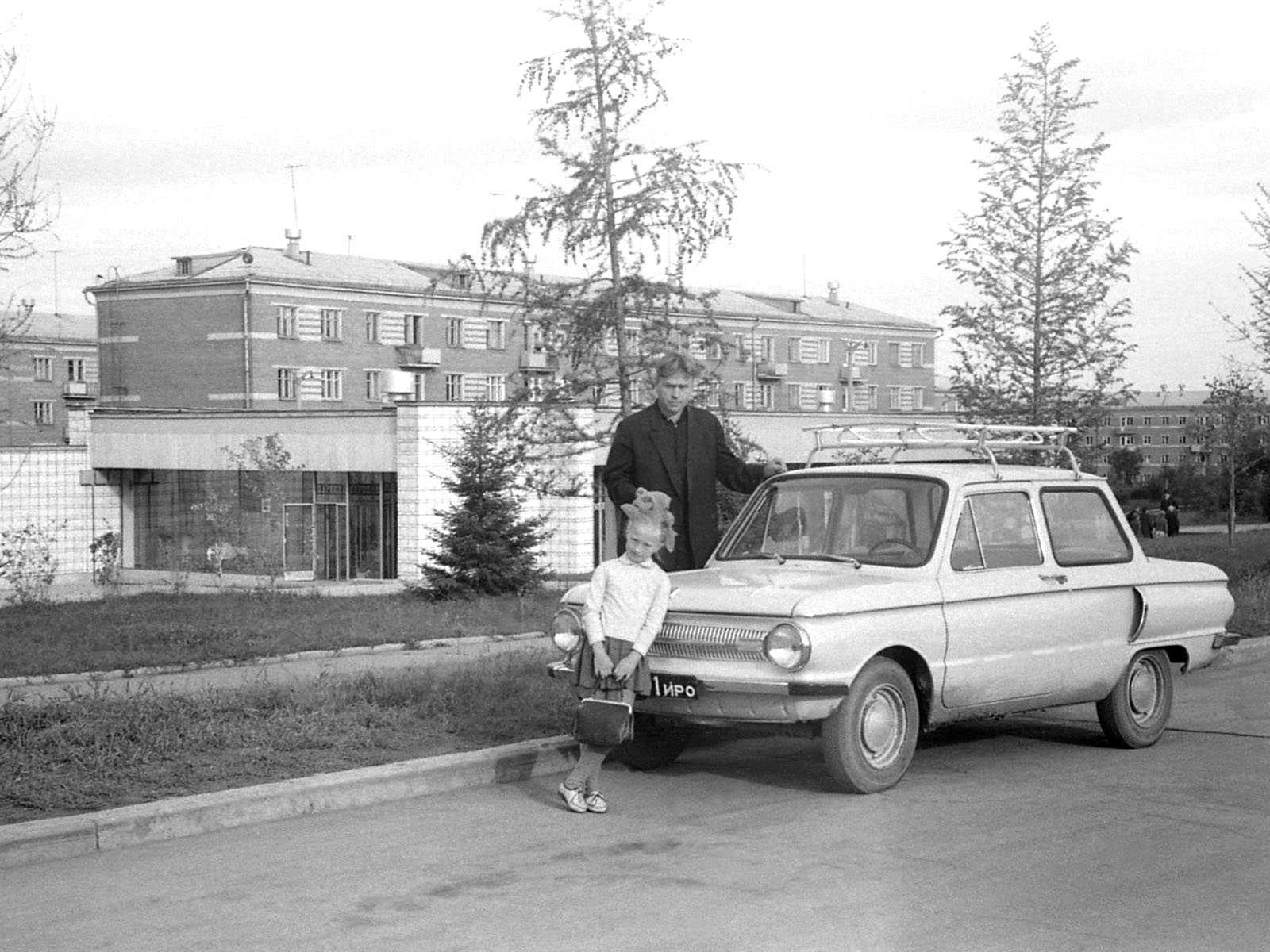 1970. Академгородок, август