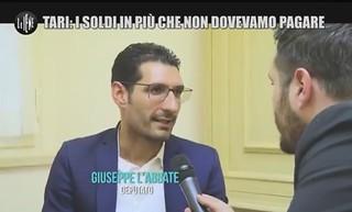 Giuseppe L'Abbate a Le Iene