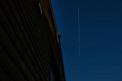 Transit de l'ISS dans le ciel Sarthois