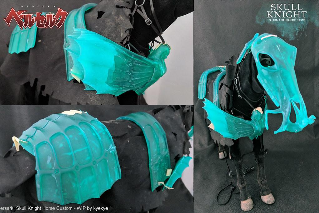 1/6 scale horse armor custom for Skull knight from [Berserk] 42813715615_5a73b6ac90_b