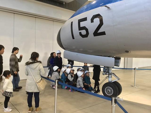 あいち航空ミュージアム パイロット職業体験 YS-11 機体外部点検 C727FCB8-ADD7-401C-B2D7-C66259681FC2