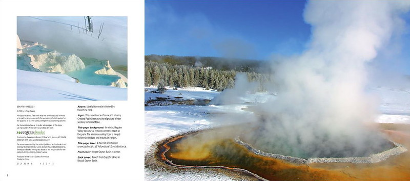 Sample Page of Winter Wonderland in Yellowstone