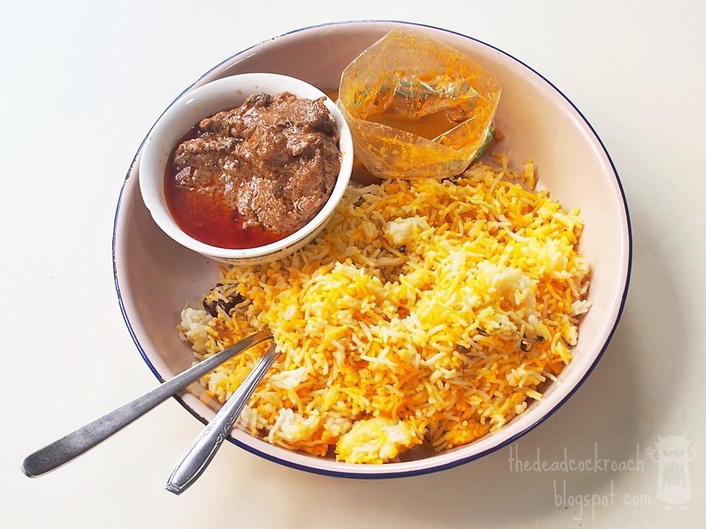 beach road, food, food review, indian food, indian muslim, koothurar, mohammed raffi muslim food stall, muslim food, nasi briyani, review, singapore,koothurar nasi briyani,beach road nasi briyani,biryani