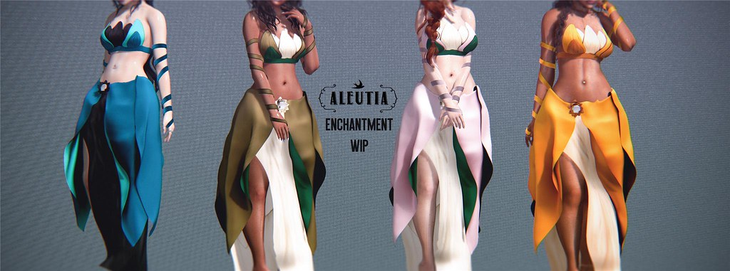 [Aleutia] Enchantment WIP!
