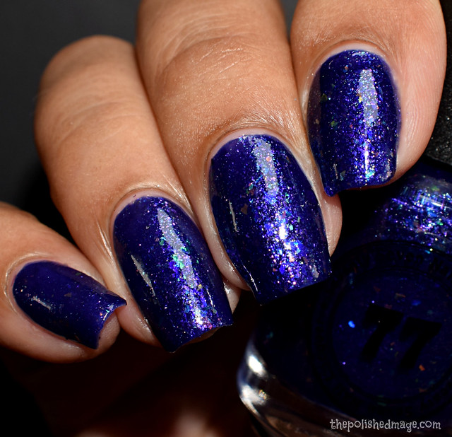 seventy seven nail lacquer when night is blind 4