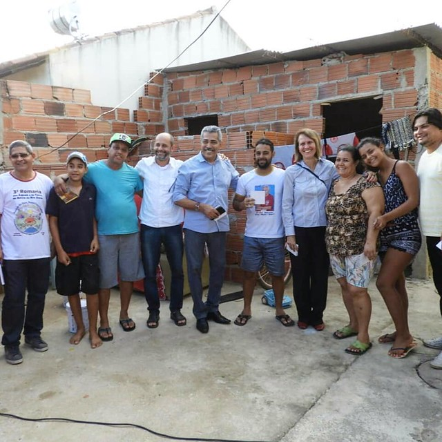Visita ao Residencial Vitória em Governador Valadares