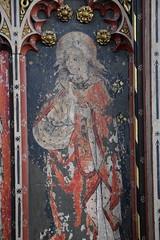 rood screen: St John (15th Century)