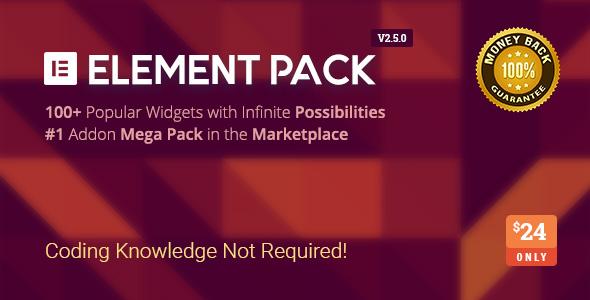 Element Pack v2.5.2 – Addon for Elementor Page Builder