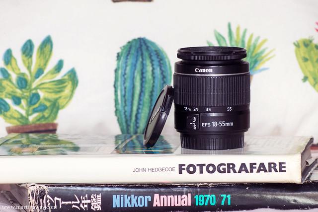 Obiettivo Canon 18-55mm: attrezzatura fotografica