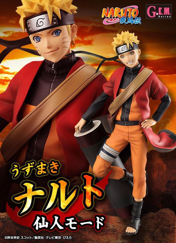 G.E.M Series Naruto Shippūden Naruto Sage mode