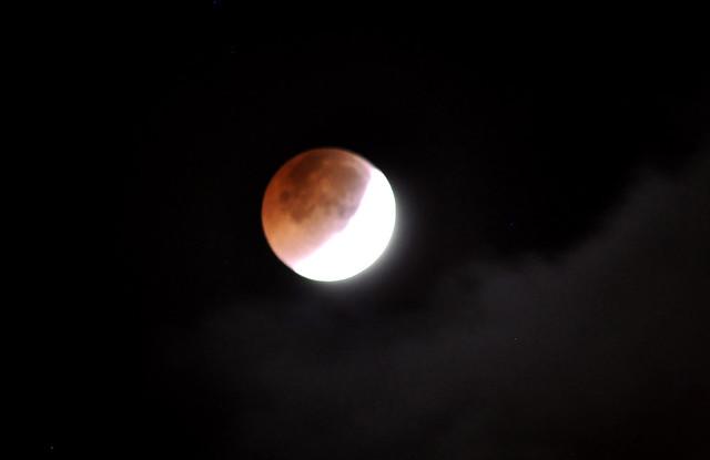 _DSC0053 Blood Moon, Nikon D90, AF Nikkor 300mm f/4 IF-ED