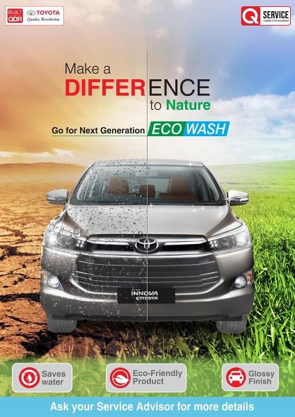 Toyota Eco Wash