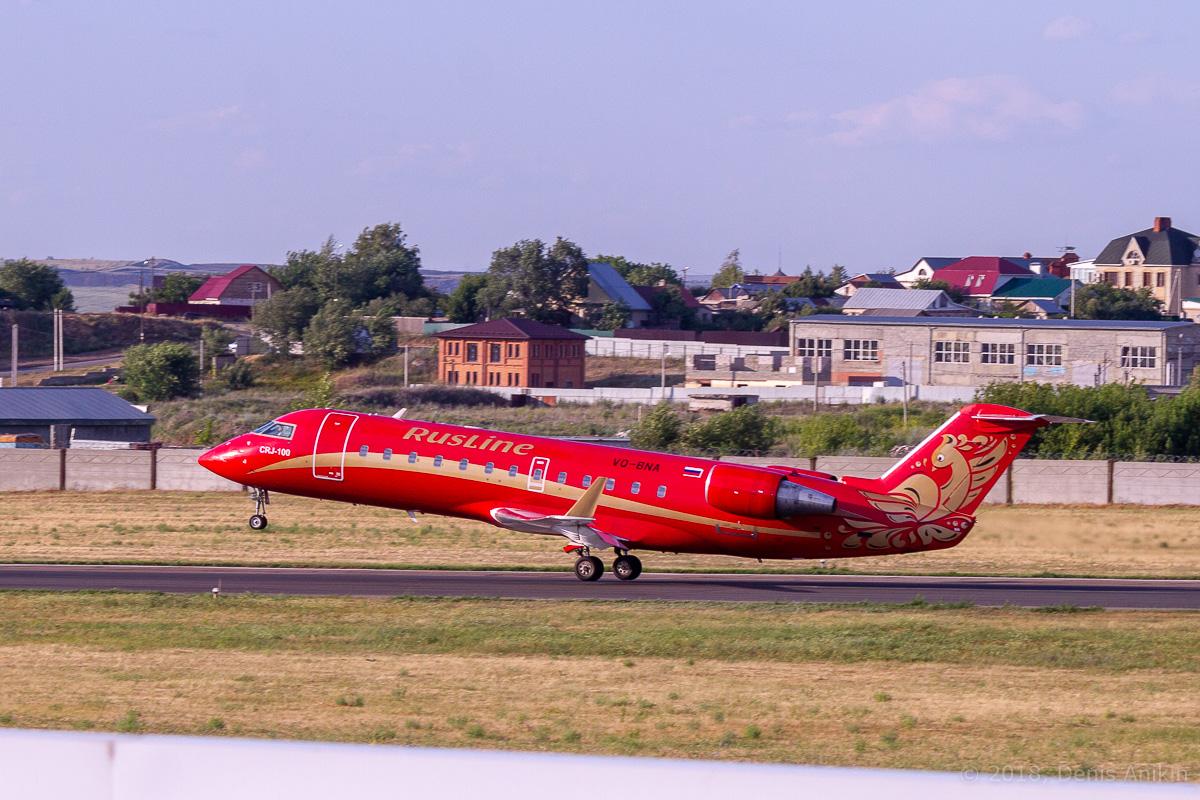 Rusline CRJ-100 VQ-BNA фото 6