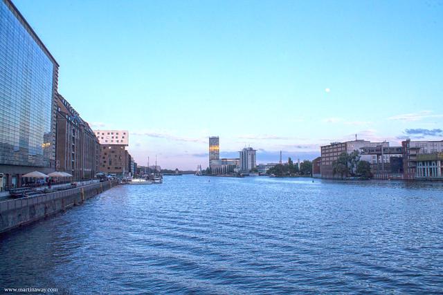Sprea dall'Oberbaumbrücke