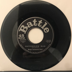 MONGO SANTAMARIA BAND:WATERMELON MAN(RECORD SIDE-A)