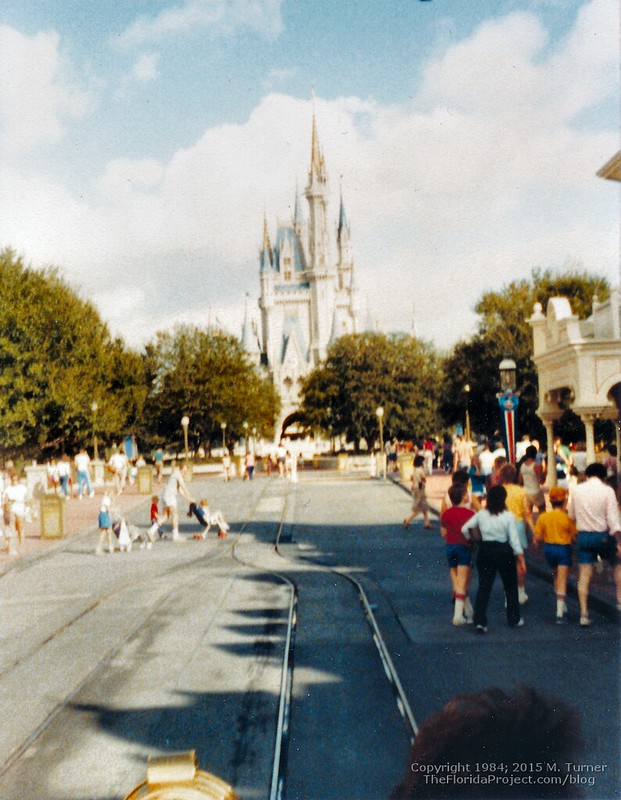 WDW Magic Kingdom Cinderella Castle 1984
