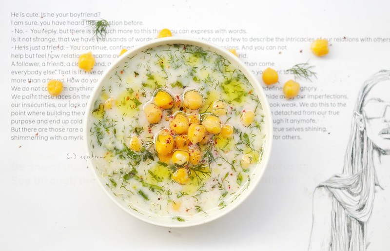 cold ayran soup