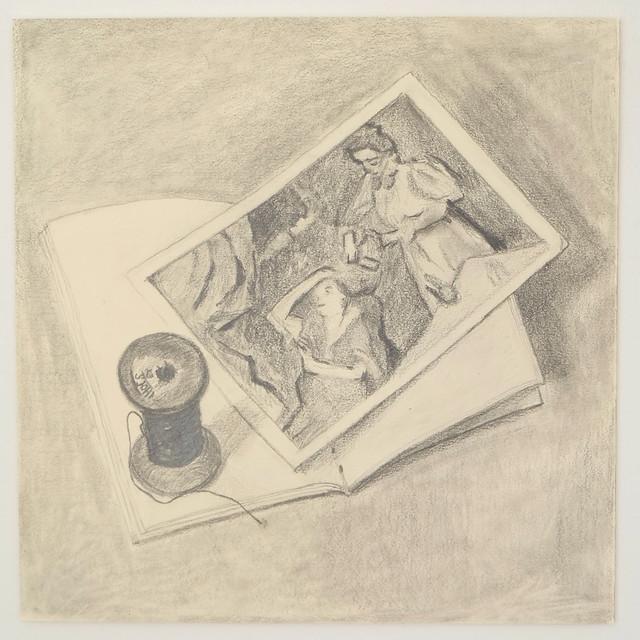 Degas postcard