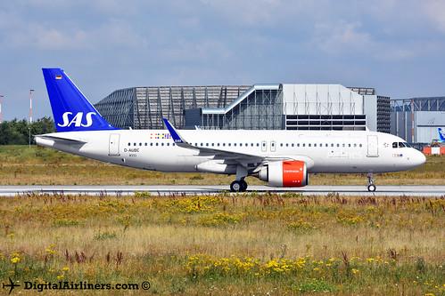D-AUBC / EI-SIG Airbus A320-251N msn 8333 SAS