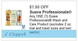 photo regarding Suave Printable Coupons identify $1.50/1 Large Really worth clever coupon merely 0.38 - 0.49 at Walmart