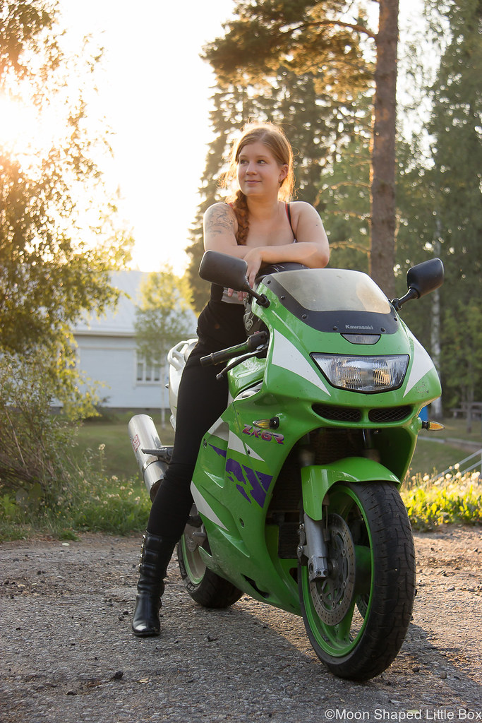 Moottoripyöräily, moottoripyörät, kawasaki, suzuki, moottoripyöräily kaverin kanssa, moottoripyöräilevät naiset, kawasaki ninja, reissuvinkit kotimaa, heinävesi, varistaipale