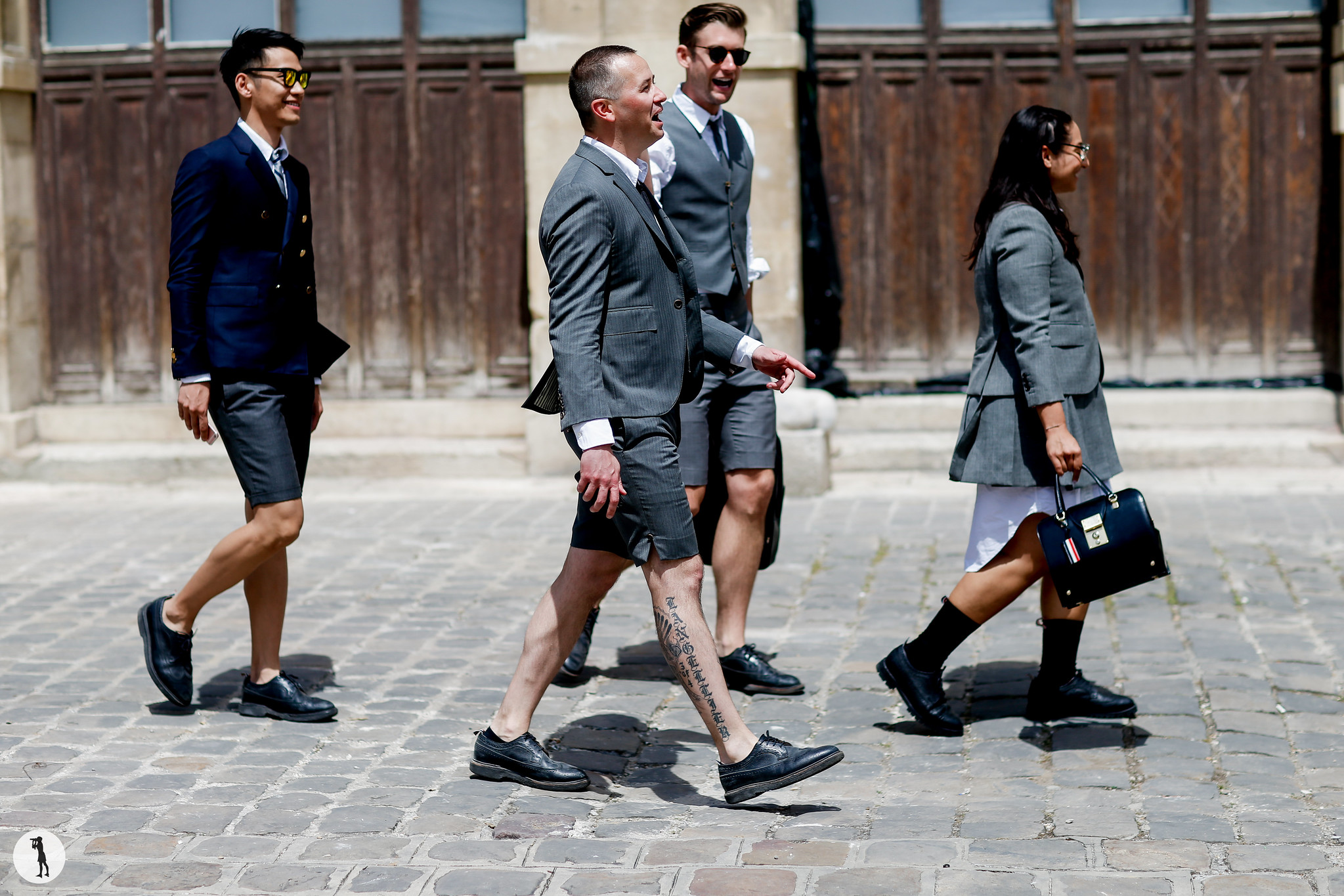 Street style - Paris Fashion Week Menswear SS19 (61)