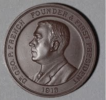 Dr. French c. 1912 medal