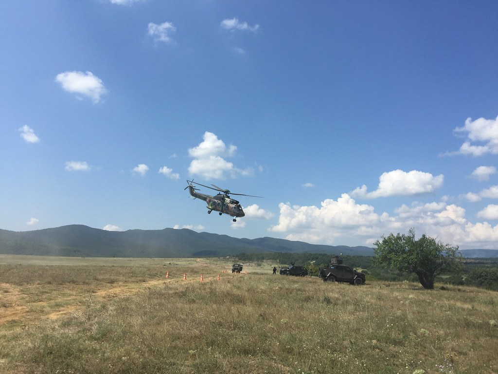 """Platinum Lion 2018"" Security Exercise Is Taking Place at Novo Selo Training Area"