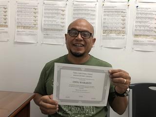 Martin Antonio Cisneros, reparacion de credito en Municipal credit service