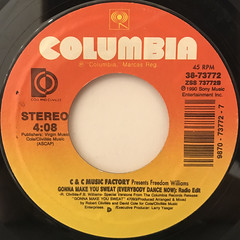 C & C MUSIC FACTORY:HERE WE GO(LABEL SIDE-B)