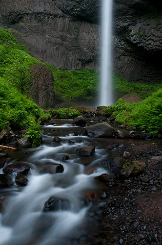 hiking karl landscape travel water waterfall oregon usa