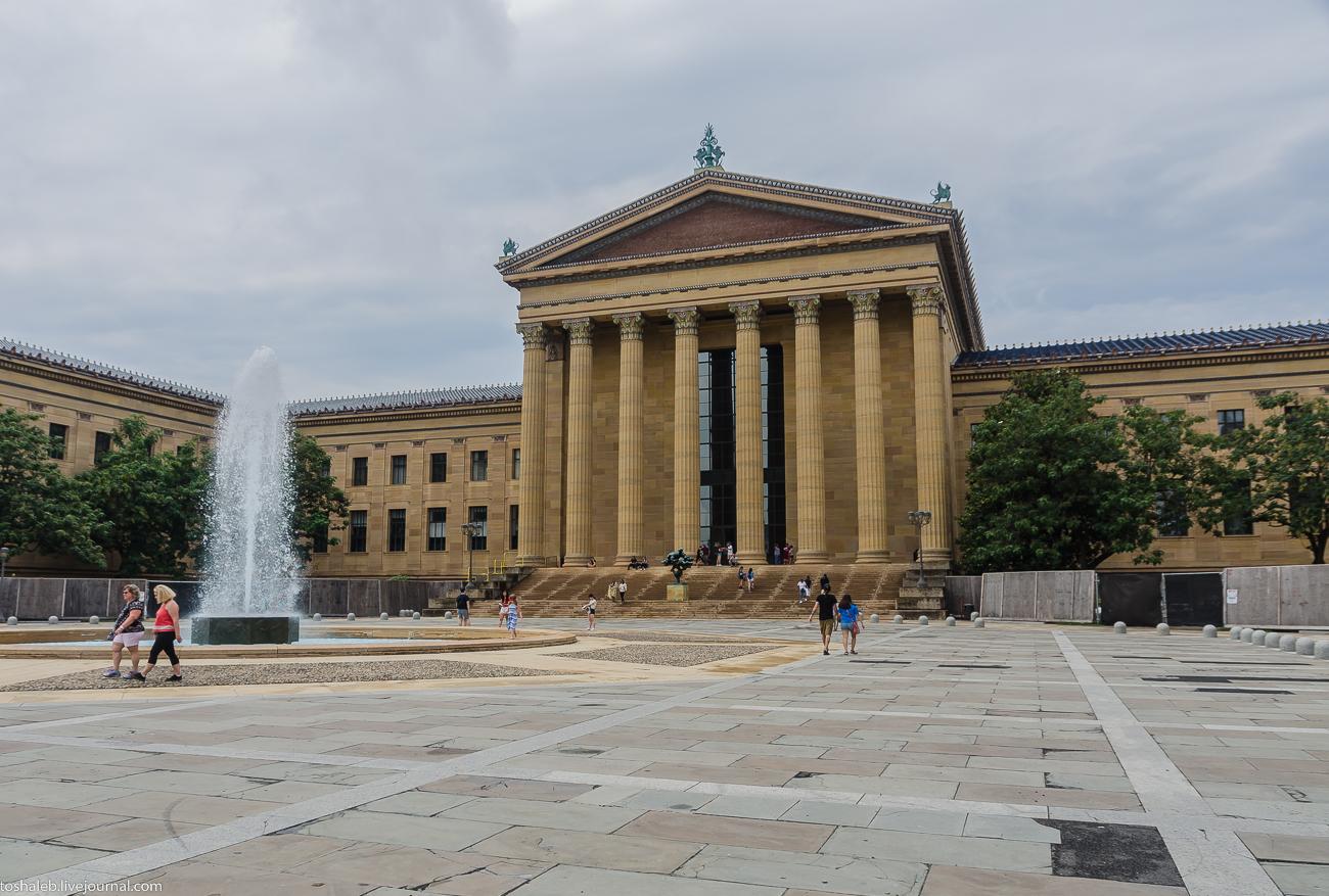 Филадельфия_фасад музея-27