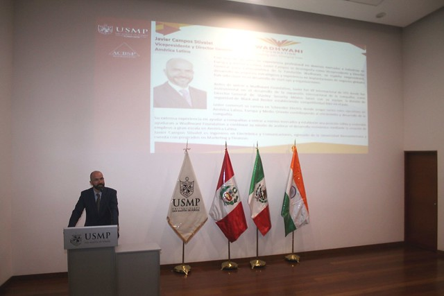 Universidad de San Martín de Porres y la Fundación Wadhwani presentaron la Primera Célula de Emprendimiento Estudiantil E-CELL USMP