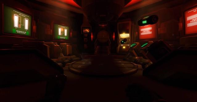 डाउनवर्ड सर्पिल Horus स्टेशन - लाल कमरा
