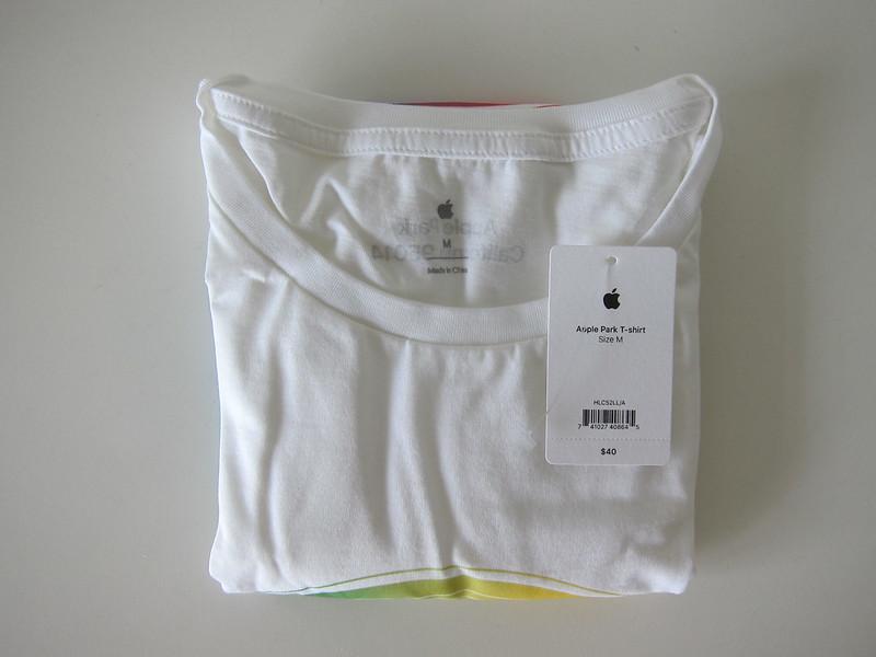 Apple Park T-Shirts - White - Folded