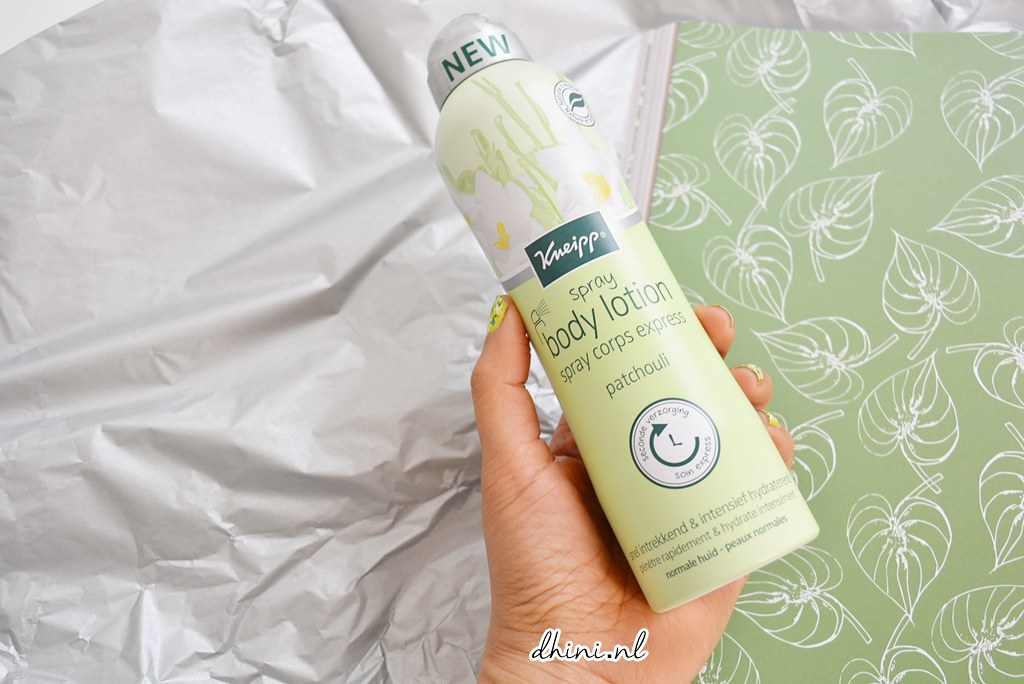 Kneipp body lotion spray