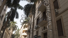 Renovated balconies at Sherifeen street