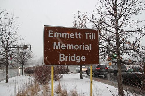 Emmett Till Memorial Bridge Sign